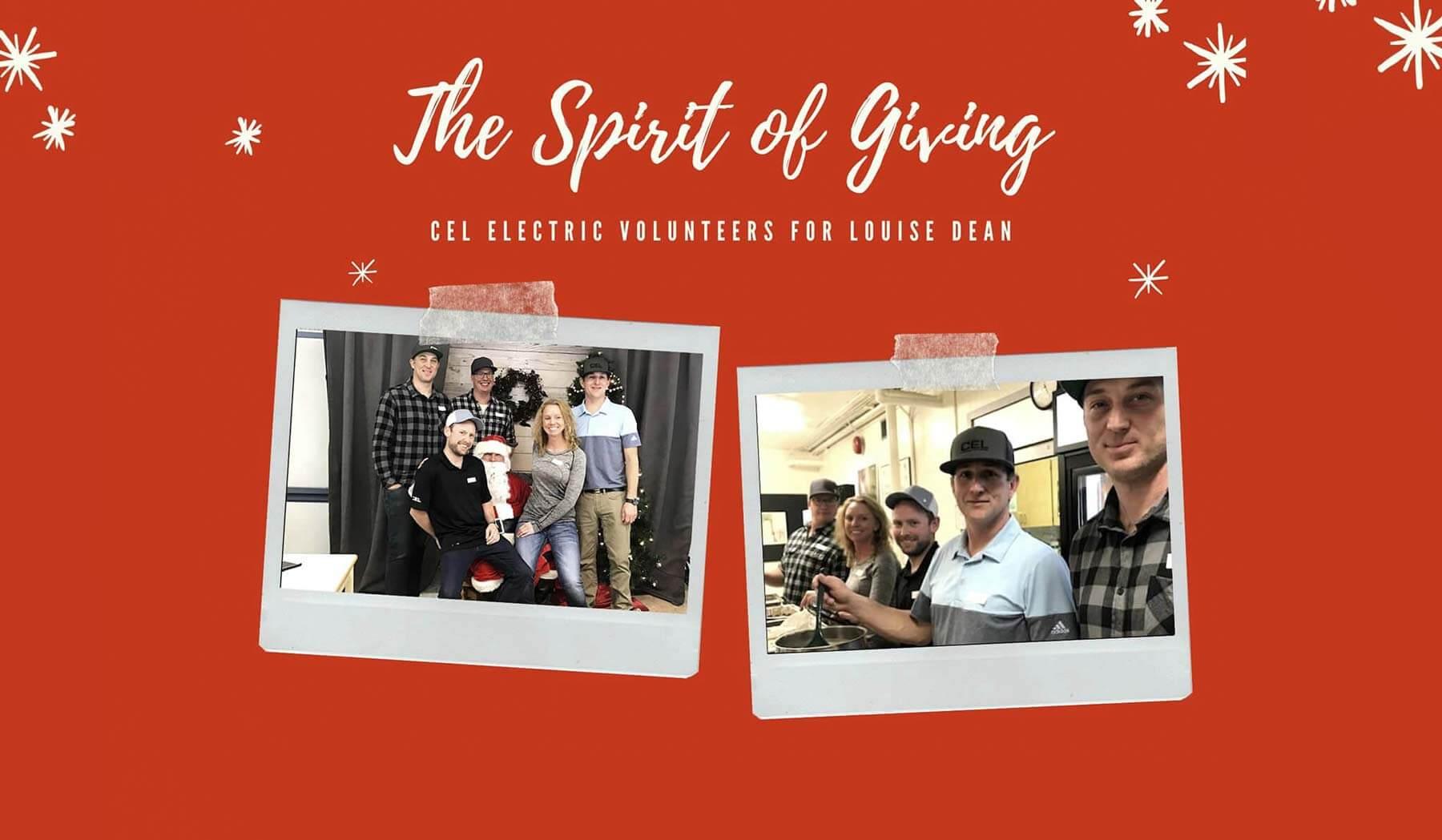 CEL Spirit of giving