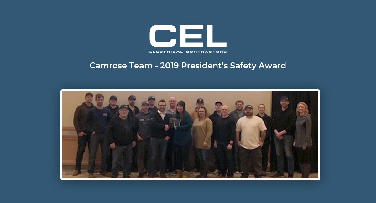 Camrose Safety Award